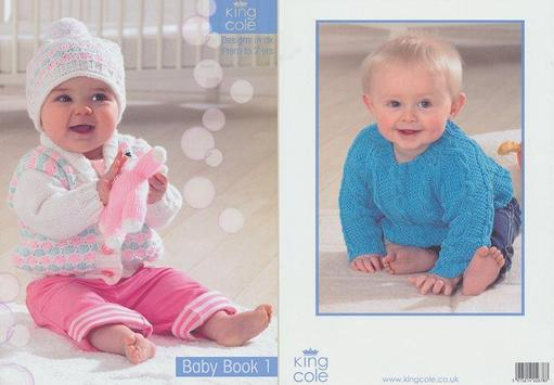 baby knitting patterns poster