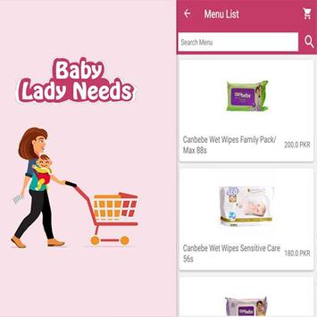 baby lady needs poster