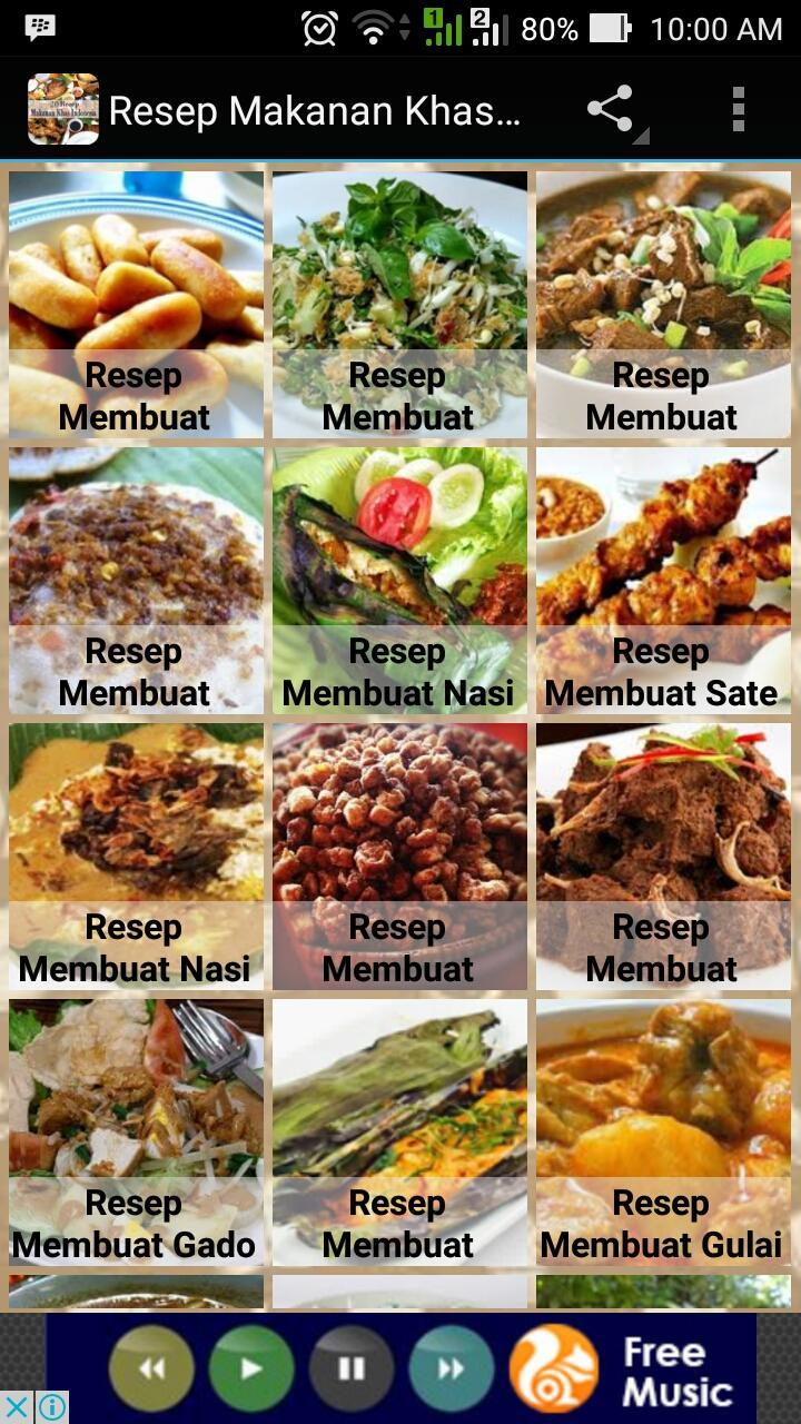 Resep Makanan Khas Indonesia For Android Apk Download
