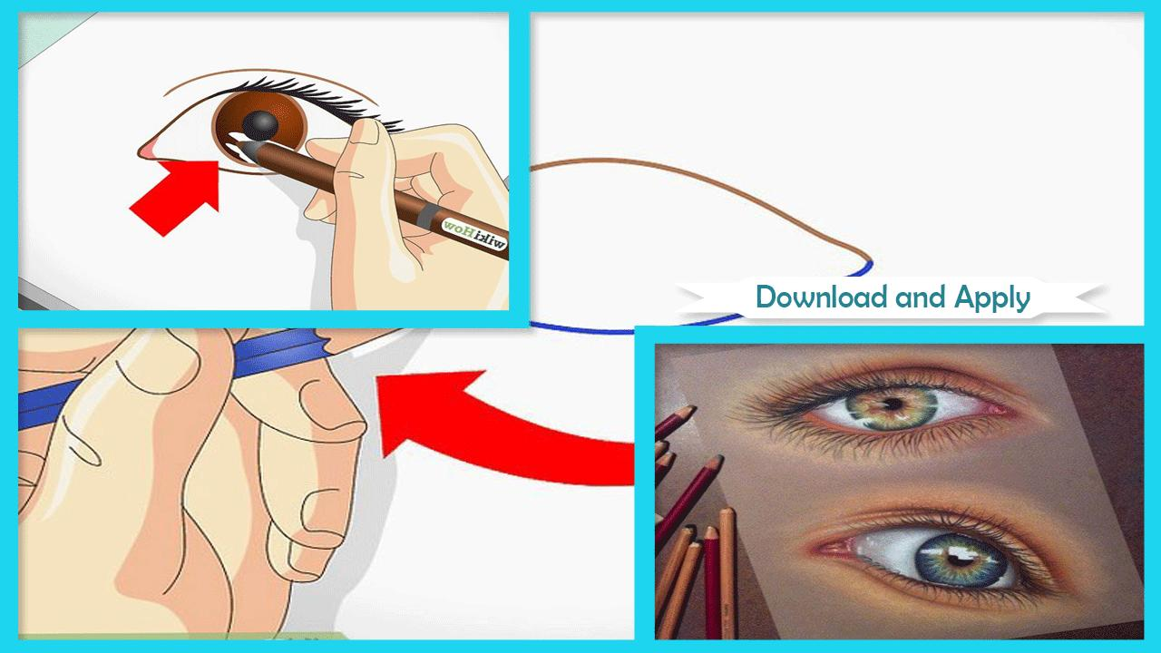 Easy Drawing Human Eye Step By Step For Android Apk Download