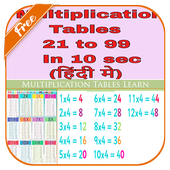Multiplication Tables Learn icon