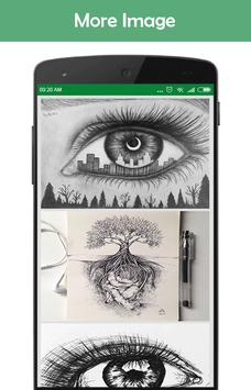 Awesome Art Drawing Ideas screenshot 2