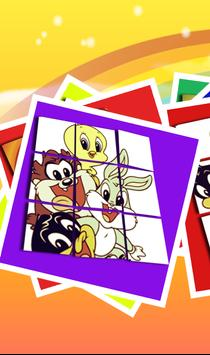 Slide Puzzle For Baby Looney Tunes poster