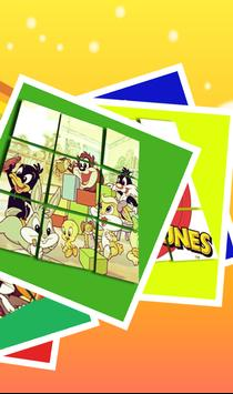 Slide Puzzle For Baby Looney Tunes screenshot 2