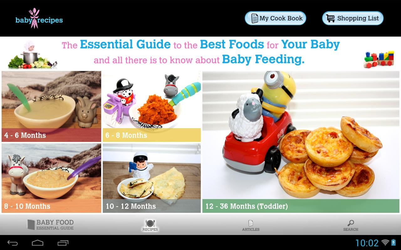 Baby recipes health apk download free lifestyle app for android baby recipes health apk screenshot forumfinder