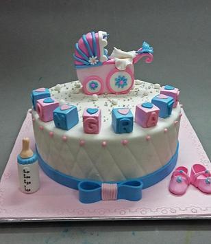 Baby Shower Cake poster