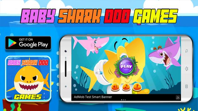 Baby Shark Doo Games poster
