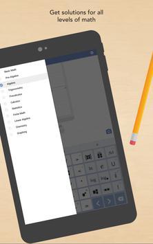Mathway captura de pantalla de la apk