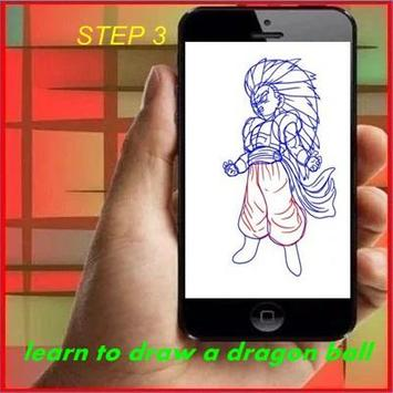 How to Draw DBZ apk screenshot