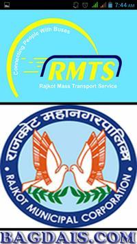 Rajkot City Bus Service poster