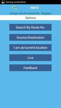 Rajkot City Bus Service screenshot 1