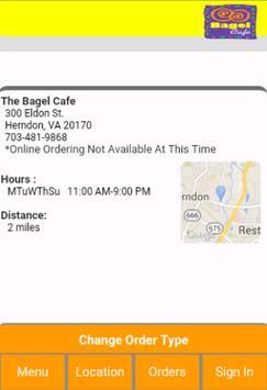 The Bagel Cafe screenshot 1