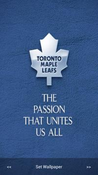 Maple Leafs Wallpaper poster
