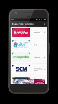 Onderdil Motor Indonesia poster