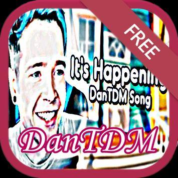 Songs DanTDM + Lyric poster