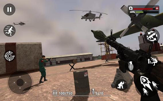 Army Commando Strike Battlegrounds Survival screenshot 13