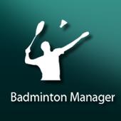 Badminton Manager icon