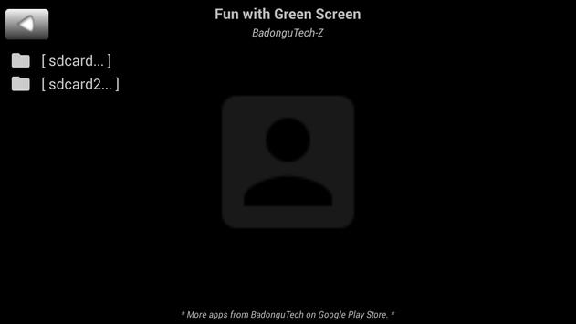 Magic Green Screen Effects Video Player poster