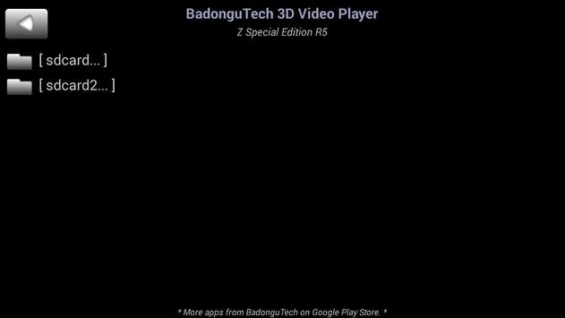 BadonguTech 3D Movie Player (Anti Alias/Moire SBS) poster