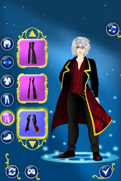 Vampire Dress Up apk screenshot