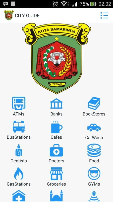 MAP Samarinda Position for Android - APK Download