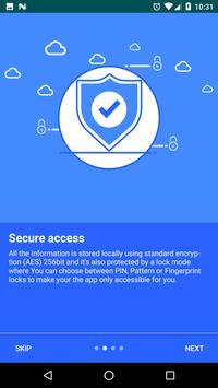 Keep it Safe Password Manager screenshot 1