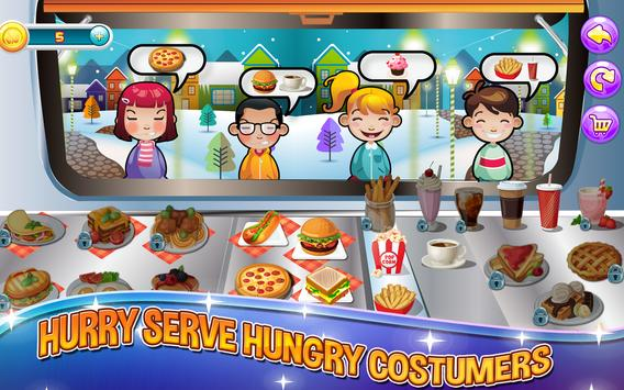 Kitchen Fever:Street Food Shop screenshot 5