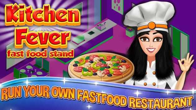 Kitchen Fever:Street Food Shop poster