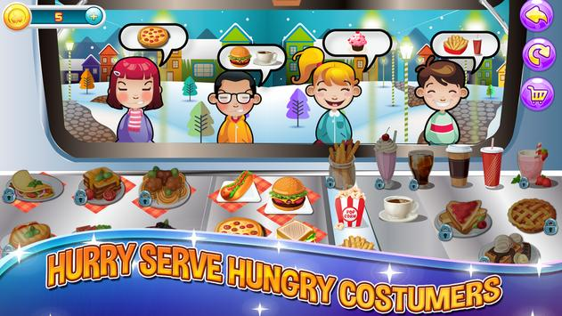 Kitchen Fever:Street Food Shop screenshot 1