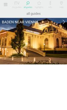 Baden near Vienna poster