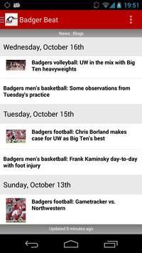 Badger Beat by madison.com apk screenshot