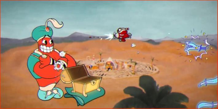 Super Cuphead adventures screenshot 3