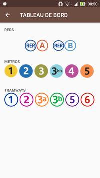Prochains Trains (RATP) poster