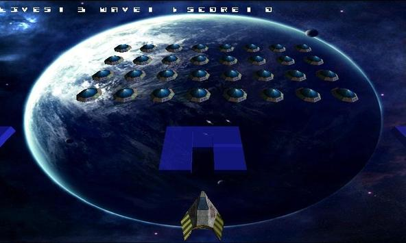 Space Invader 3d Beta screenshot 1