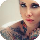 Tattoo Camera Editor icon