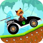 Cat Noir Hill Climb Racing icon