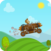Jungle Car Hill Climb icon