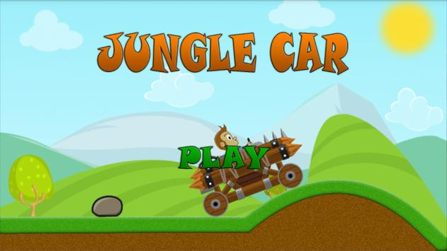 Jungle Car Hill Climb poster