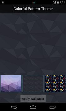 Colorful Pattern Theme apk screenshot