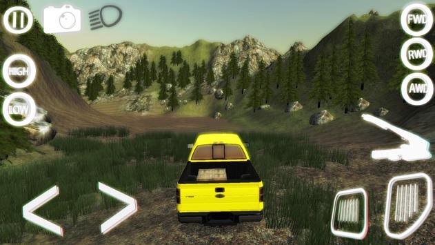 OFF-ROAD SIMULATOR 4x4 : REAL apk screenshot