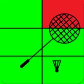 Badminton Shadow Trainer icon
