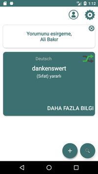 Turkish German Dictionary poster