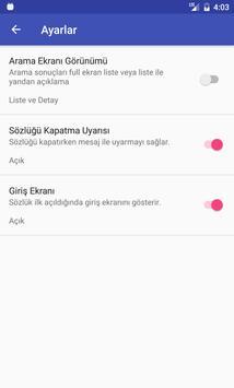 Kurdish Turkish Dictionary apk screenshot