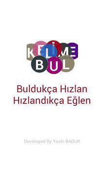 Kelime Bul-Free poster