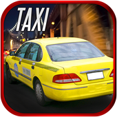 Taxi Driving Simulator 2017 - Modern Car Rush icon