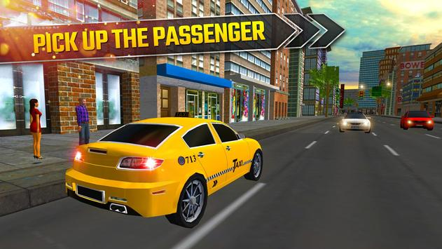 Taxi Driving Simulator 2017 - Modern Car Rush poster