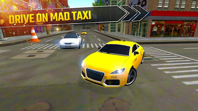 Taxi Driving Simulator 2017 - Modern Car Rush apk screenshot