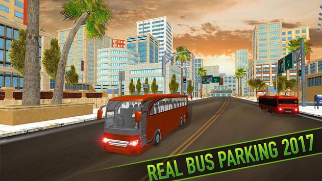 Real Bus Parking 2017 - City Coach Simulator screenshot 10