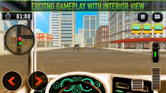 Real Bus Parking 2017 - City Coach Simulator screenshot 11
