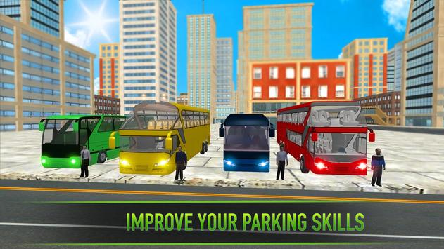 Real Bus Parking 2017 - City Coach Simulator screenshot 13